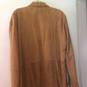 Women's Barney's suede jacket